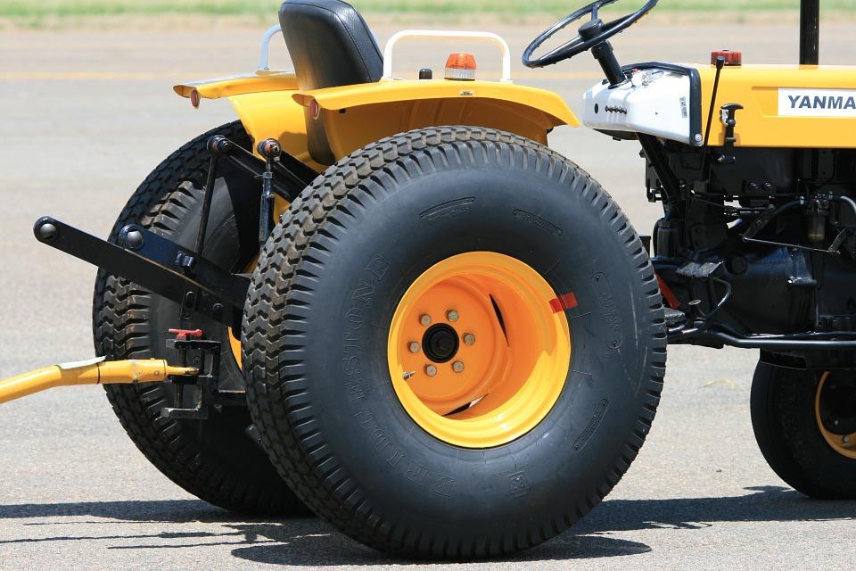 Tažné zařízen od traktoru