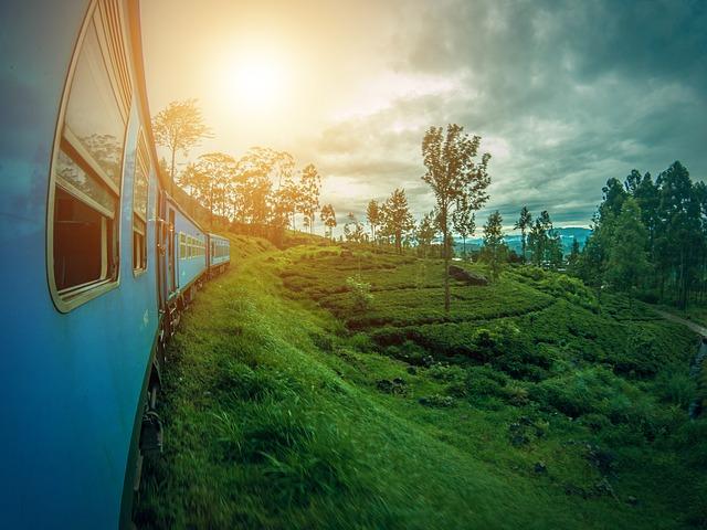 modrý vlak