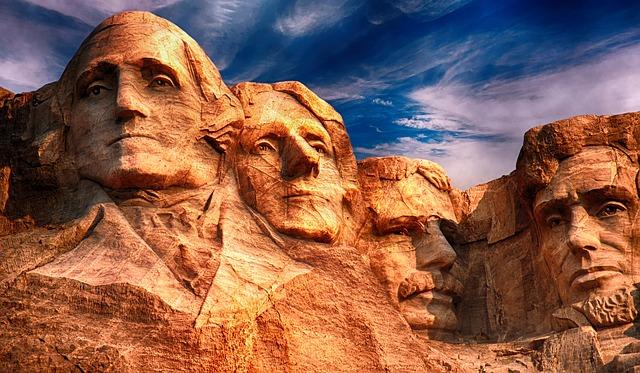 Sousoší prezidentů USA